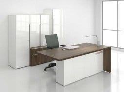 Ban lam viec giam doc hien dai Boss Desk V