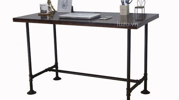 Mẫu bàn làm việc văn phòng chân sắt lý tưởng cho dân văn phòng