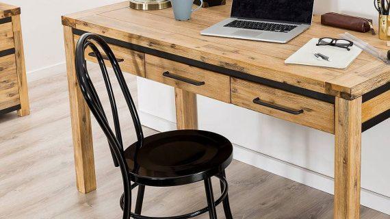 Các mẫu bàn làm việc gỗ cao su – Ưu điểm gỗ cao su