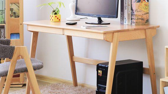 Mẫu bàn làm việc gỗ đơn giản nhỏ gọn giá rẻ