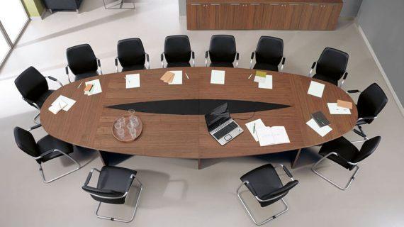 Bàn họp 12 người kích thước chuẩn giá tốt tại TPHCM