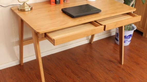 Các mẫu bàn học trẻ em gỗ thông đẹp giá rẻ