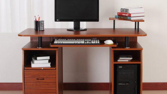 Các mẫu bàn máy vi tính gỗ tự nhiên giá rẻ tại TP HCM