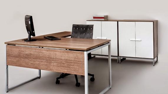 Các mẫu bàn làm việc giám đốc chân sắt bền đẹp giá tốt