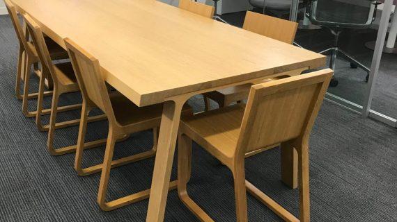 Các mẫu bàn ghế phòng họp gỗ tự nhiên cao cấp giá rẻ tại TP HCM