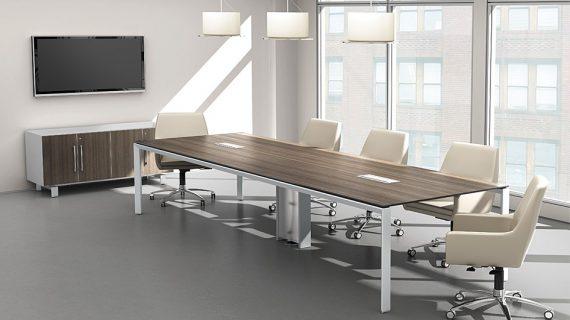 Các mẫu bàn họp chân sắt – Nội thất văn phòng giá rẻ