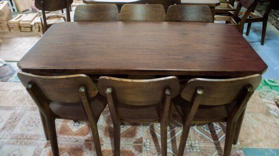 Những bộ bàn ghế gỗ sồi đẹp, bền, giá tận gốc từ xưởng