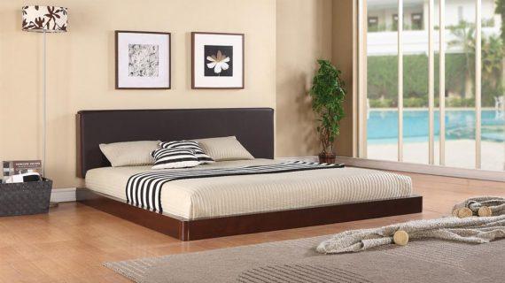 Các mẫu giường ngủ gỗ tự nhiên đẹp hiện đại