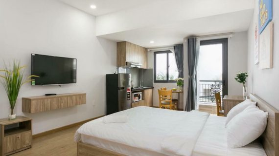 Nhận đóng giường ngủ gỗ cho khách sạn, hotel, homestay tại TP HCM