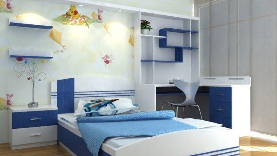 Giá giường ngủ gỗ cho em bé trai và bé gái năm 2019