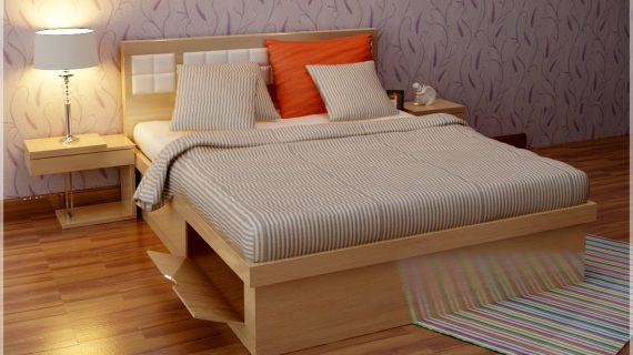 Các mẫu giường gỗ đẹp đơn giản giá rẻ chất lượng tại TP HCM