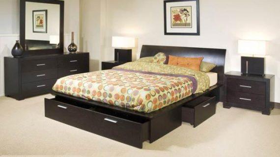 Các mẫu giường gỗ hộp kiểu Nhật đẹp giá rẻ được bảo hành 12 tháng