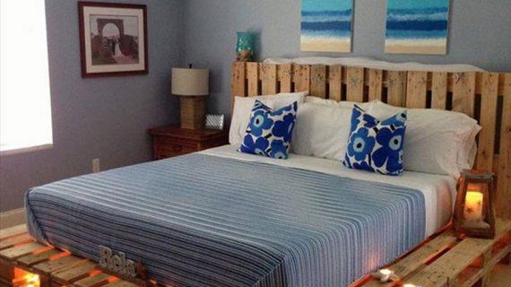 Các mẫu giường gỗ thông đẹp giá rẻ được bảo hành 12 tháng