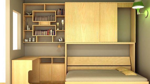 Các mẫu giường gỗ thông minh đẹp giá rẻ được bảo hành 12 tháng