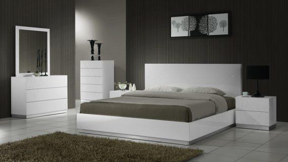 Các mẫu giường gỗ trắng đẹp giá rẻ được bảo hành 12 tháng