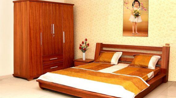 Các mẫu giường gỗ tự nhiên đẹp giá rẻ được bảo hành 12 tháng