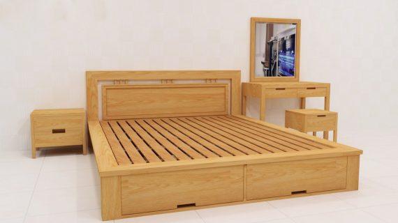 Các mẫu giường Hàn Quốc đẹp giá rẻ được bảo hành 12 tháng