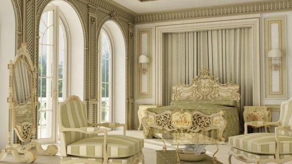 Các mẫu giường hoàng gia cao cấp đẹp được bảo hành 12 tháng