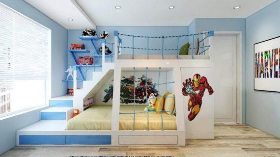 Các mẫu giường ngủ cho bé trai giá rẻ tại TP HCM