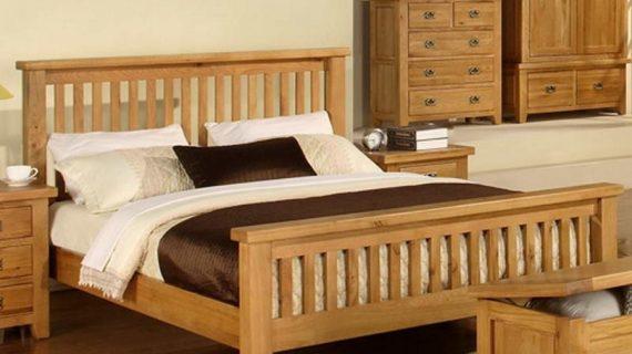 Các mẫu giường ngủ gỗ 1m2 đẹp giá rẻ được bảo hành 12 tháng