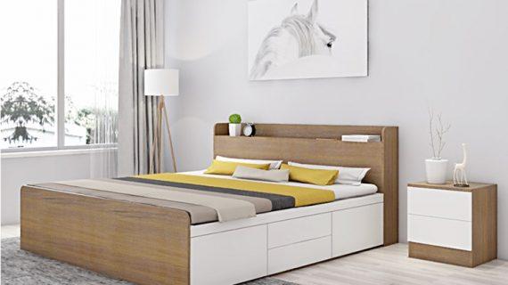 Bộ giường tủ cưới gỗ giá rẻ chất lượng cho vợ chồng trẻ