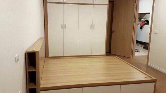 Bộ giường tủ gỗ công nghiệp đẹp giá rẻ, bảo hành 12 tháng