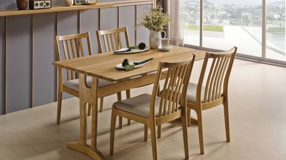 Các mẫu bàn ghế ăn gỗ đẹp hiện đại giá rẻ cho mọi gia đình