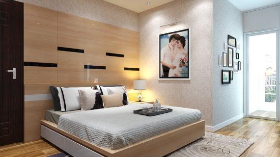 Các mẫu giường gỗ MDF MFC An Cường đẹp giá rẻ