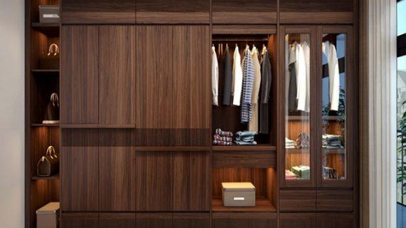 Nhận đóng tủ quần áo gỗ tự nhiên giá rẻ tại TPHCM