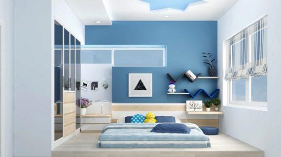 Thiết kế nội thất phòng ngủ đẹp hiện đại đơn giản giá rẻ tại TP HCM