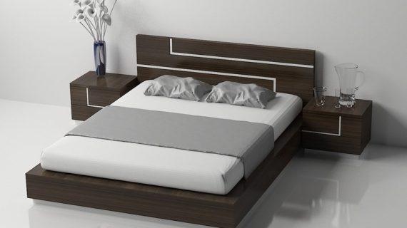 Các mẫu giường ngủ queen size, kích thước và giá cả