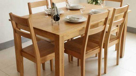 Giá bộ bàn ăn bằng gỗ đẹp tại TP HCM trung bình là bao nhiêu