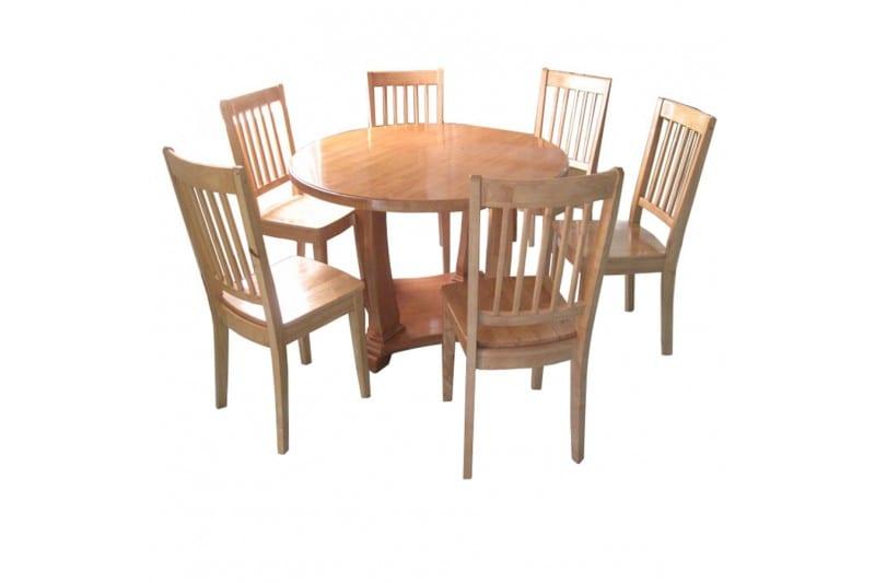 mẫu bộ bàn ăn hình tròn