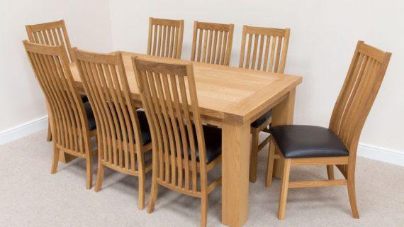 Giá bộ bàn ăn gỗ 8 ghế cho gia đình tại TP HCM