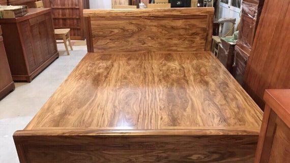 Tìm hiểu giá giường ngủ gỗ tự nhiên tránh loạn giá nội thất
