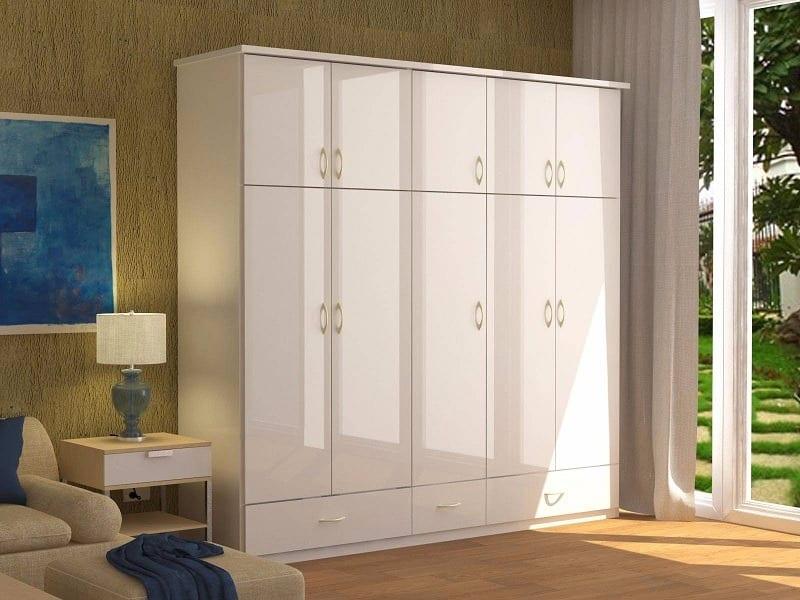 tủ quần áo có khả năng chống ẩm mốc của gỗ MDF
