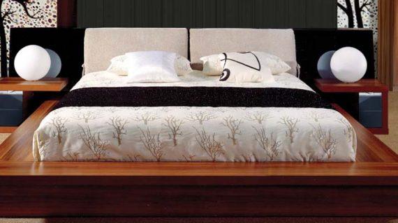 Các mẫu giường gỗ căm xe đẹp giá rẻ bảo hành 12 tháng