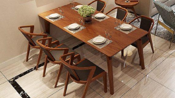 Mẫu ghế gỗ bàn ăn đẹp, phù hợp với nhiều loại bàn khác nhau