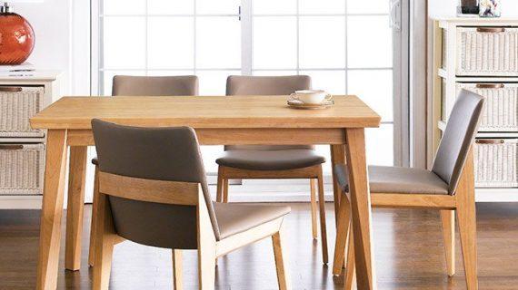 Mua bàn ăn gỗ cao su giá rẻ ở đâu có cam kết chất lượng và bảo hành dài lâu