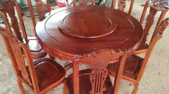 Mua bàn ăn gỗ hương giá rẻ ở đâu có cam kết chất lượng và bảo hành lâu dài