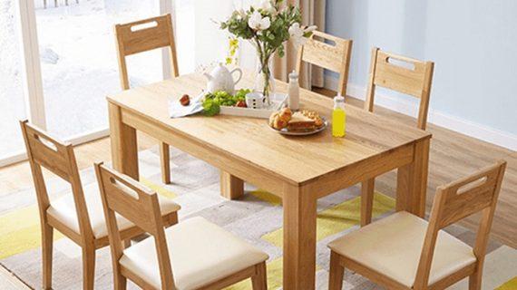 Mua bàn ăn gỗ sồi giá rẻ ở đâu có cam kết chất lượng và bảo hành dài lâu