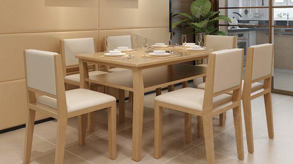 Mua bàn ăn gỗ tự nhiên giá rẻ ở đâu có cam kết chất lượng và bảo hành dài lâu