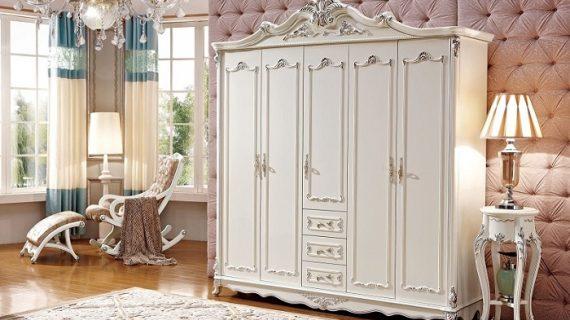 Các mẫu tủ quần áo 5 cánh đẹp giá rẻ, đơn giản phù hợp với mọi phong cách