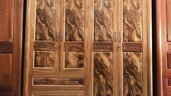 Các mẫu tủ quần áo gỗ hương giá rẻ tại TP HCM – bảo hành 12 tháng