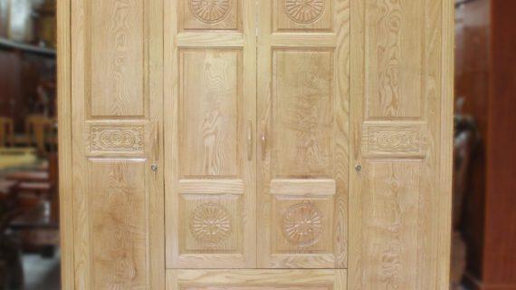Các mẫu tủ quần áo gỗ sồi mỹ giá rẻ tại TP HCM – bảo hành 12 tháng